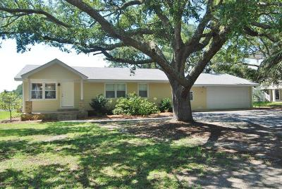 Sunset Beach Single Family Home For Sale: 311 Stokes Drive