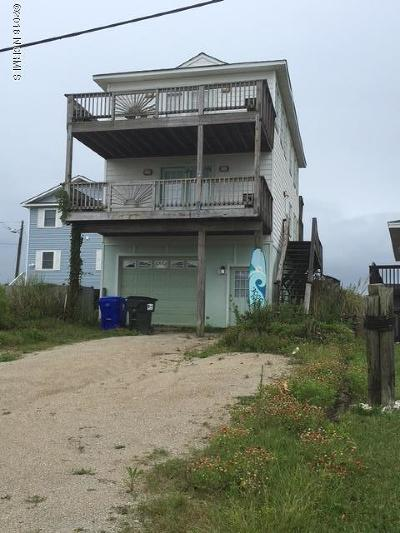 North Topsail Beach, Surf City (onslow) Single Family Home For Sale: 3000 Island Drive