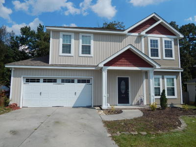 Jacksonville Single Family Home For Sale: 309 Jasmine Lane
