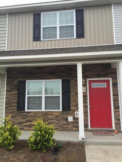 Sneads Ferry Condo/Townhouse For Sale: 620 Ebb Tide Lane