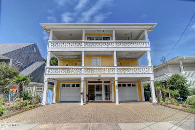 Wrightsville Beach Single Family Home For Sale: 609 N Channel Drive
