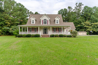 richlands Single Family Home For Sale: 329 Barbee Road