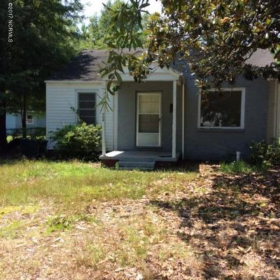Rocky Mount Single Family Home For Sale: 427 Craig Street