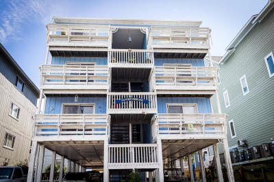 Carolina Beach, Kure Beach Condo/Townhouse For Sale: 606 Carolina Beach Avenue S #1a