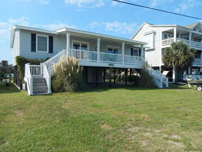 Topsail Beach Single Family Home For Sale: 1614 S Anderson Boulevard
