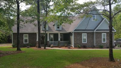 Hubert Single Family Home For Sale: Riggs Road