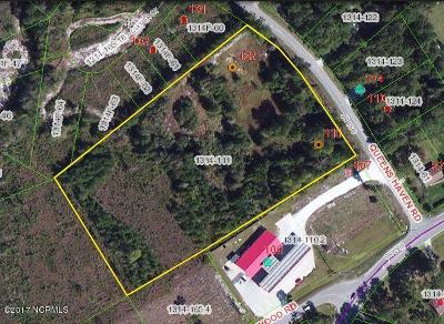 hubert Residential Lots & Land For Sale: 111 Queens Haven Road