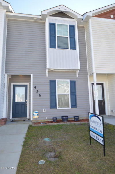 Jacksonville Rental For Rent: 436 Caldwell Loop