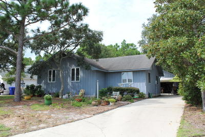 Carolina Beach, Kure Beach Single Family Home Active Contingent: 503 Fern Creek Lane
