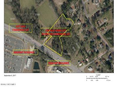 Richlands Residential Lots & Land For Sale: 0 Nc-258/24