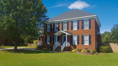 Greenville Single Family Home For Sale: 1707 Paramore Drive