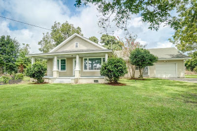Beaufort Single Family Home For Sale: 651 Hwy 70 Bettie