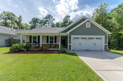 Sneads Ferry Single Family Home Active Contingent: 429 Ridgeway Drive