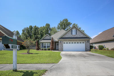 Sneads Ferry Single Family Home For Sale: 239 Silver Creek Loop