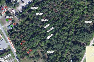 Sneads Ferry Residential Lots & Land For Sale: 179 Sneads Ferry Road