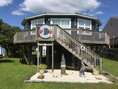 North Topsail Beach, Surf City, Topsail Beach Single Family Home For Sale: 1006 1 St
