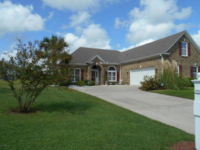 Southport Single Family Home For Sale: 5216 Shipmast Way