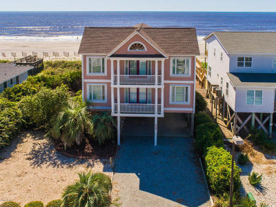 Holden Beach Single Family Home For Sale: 555 Ocean Boulevard W