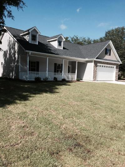 Calabash Single Family Home For Sale: 9060 Oak Ridge Plantation Drive SW