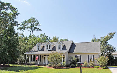 Morehead City Single Family Home For Sale: 917 Lord Granville Drive