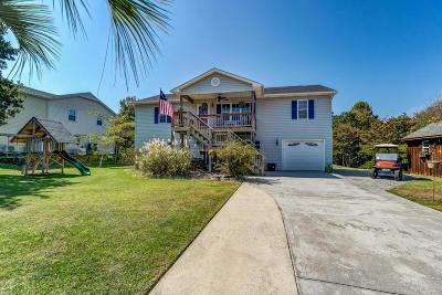 Emerald Isle Single Family Home For Sale: 211 Loblolly Street