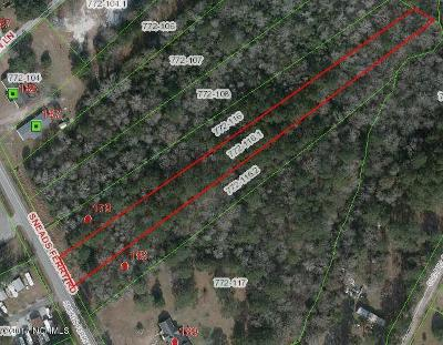 Sneads Ferry Residential Lots & Land For Sale: 181 Sneads Ferry Road