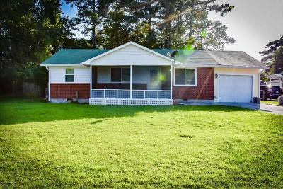 Jacksonville Single Family Home For Sale: 114 Armstrong Drive