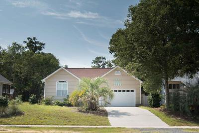 Oak Island Single Family Home For Sale: 1203 E Oak Island Drive