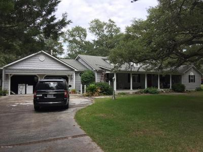 Harkers Island Single Family Home For Sale: 475 Island Road
