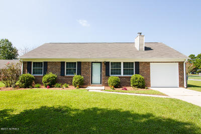 Jacksonville Single Family Home For Sale: 517 Haddock Court
