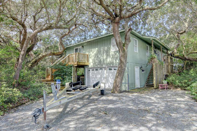 North Topsail Beach, Surf City, Topsail Beach Single Family Home For Sale: 979 Gaye Avenue