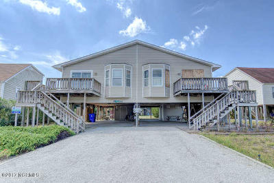 North Topsail Beach, Surf City, Topsail Beach Condo/Townhouse For Sale: 209 Port Drive