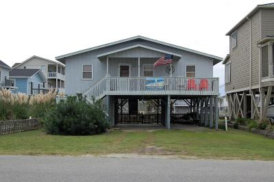 Holden Beach Single Family Home For Sale: 105 Burlington Street W