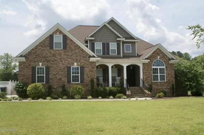 Nash County Single Family Home For Sale: 1833 Blue Heron Drive