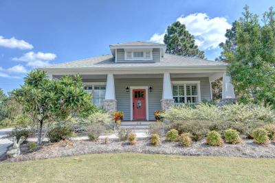 Holly Ridge Single Family Home For Sale: 210 Holly Pond Drive