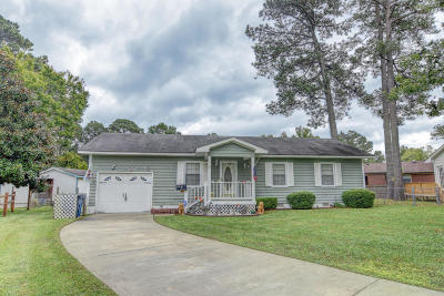 Jacksonville Single Family Home For Sale: 9 Lakewood Court