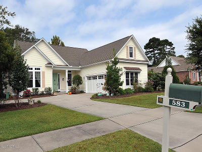 Wilmington Single Family Home For Sale: 583 Tanbridge Road