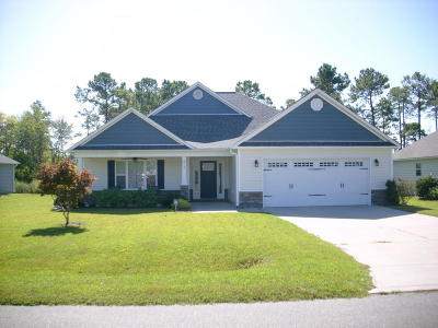 Sneads Ferry Single Family Home For Sale: 213 Marsh Haven Drive