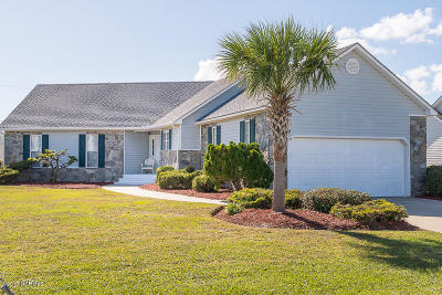 Atlantic Beach Single Family Home For Sale: 203 Old Causeway Road