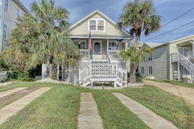 Carolina Beach, Kure Beach Single Family Home For Sale: 1106 S Lake Park Boulevard