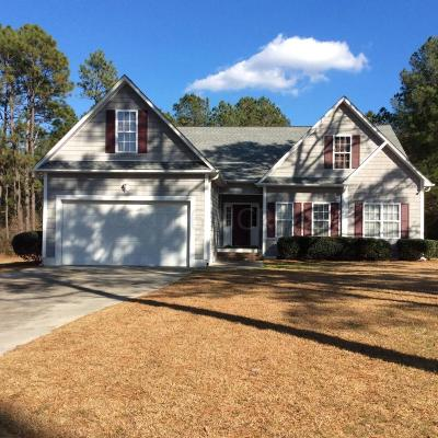 Cape Carteret Single Family Home For Sale: 299 Star Hill Drive