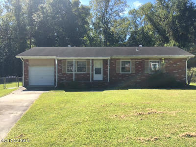 Onslow County Single Family Home For Sale: 306 Sheffield Road