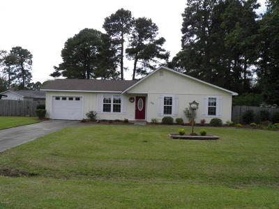 Havelock Single Family Home For Sale: 303 Deacon Court