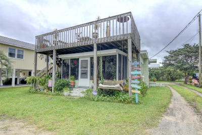 Carolina Beach, Kure Beach Multi Family Home For Sale: 1112 Canal Drive