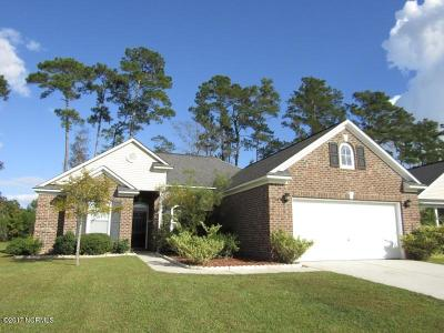 Calabash Single Family Home For Sale: 893 Willow Walk