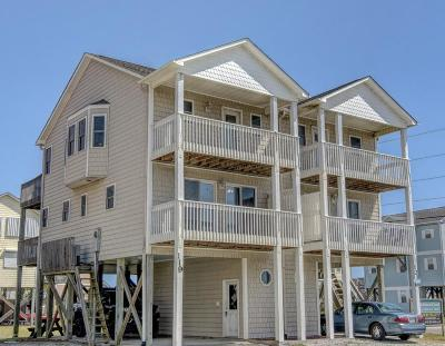 North Topsail Beach, Surf City (onslow) Condo/Townhouse For Sale: 119 Volusia Drive