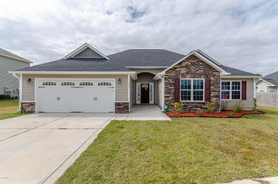 Jacksonville Single Family Home Active Contingent: 302 Aquamarine Circle