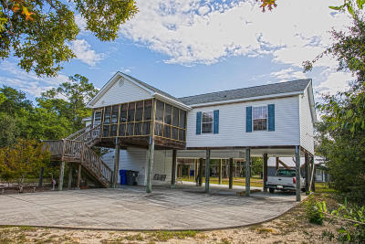 Oak Island NC Single Family Home For Sale: $289,900