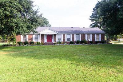 Farmville Single Family Home For Sale: 3728 Stuart Circle