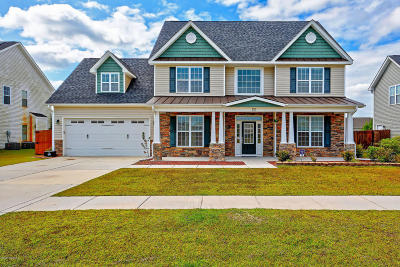 Onslow County Single Family Home For Sale: 130 Turquoise Drive
